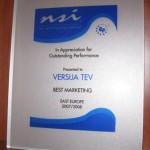 Мы получили признание компании NSI!