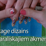 Vintage dizains ar KARALISKAJIEM AKMEŅIEM - Video#18