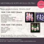 Olgas Zeltiņas dizaina meistarklase TAGAD ARĪ LIEPĀJĀ! 18. aprīlī