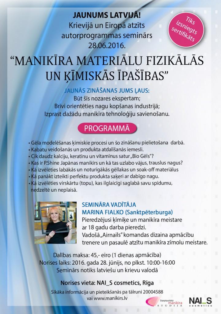 marinas seminars
