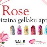 Rose gēllaku dizaina apmācības