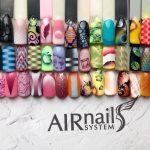 Aerogrāfijas dizains uz nagiem AR AIRnails arī citur LATVIJĀ!