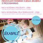 Apmācām arī citur Latvijā - pievienojies un mācies - kļūsti par speciālistu