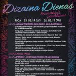 Nāc uz Dizaina Dienām Rīga 25. un 26. februārī.