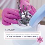Seminārs skaistumkopšanas speciālistiem par minimālām higiēnas prasībām (MK noteikumi Nr. 631).