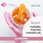 Cukura pastas vaksācijas tehnoloģija 27.10.